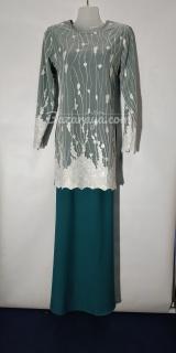 Baju kurung moden size 36 indicolite