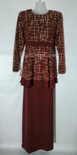 Baju kurung moden size 38