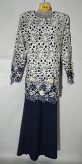 Baju kurung moden size 42