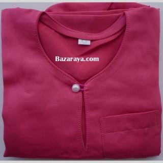 Baju Melayu baby @ toddler deep pink