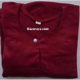 Baju Melayu Teluk Belanga kanak2 (Saiz 4-6) Maroon