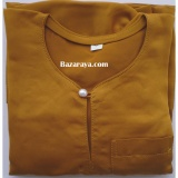Baju Melayu Teluk Belanga kanak2 (Saiz 4-6) Golden Brown