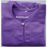 Baju Melayu Teluk Belanga kanak2 (Saiz 4-6) Lavender