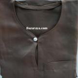 Baju Melayu Teluk Belanga kanak2 (Saiz 4-6) Mocha