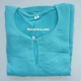 Baju Melayu Teluk Belanga kanak2 (Saiz 4-6) Cyan