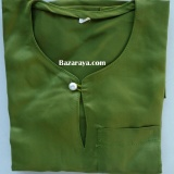 Baju Melayu Teluk Belanga kanak2 (Saiz 4-6) Olive Green