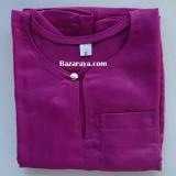Baju Melayu Teluk Belanga kanak2 (Saiz 4-6) Magenta
